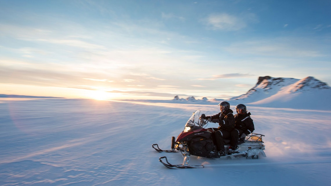 Express Activity Tour with Snowmobiling